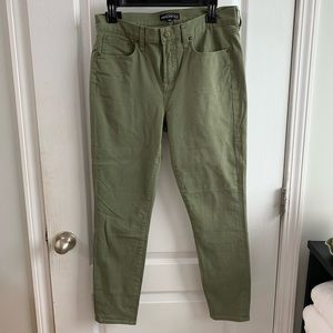 JCrew Factory Green Pants Jeans Size 29 New